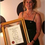 World Luxury Hotel Award 2008 Cape Town Representative Tracy-Lee Hardy