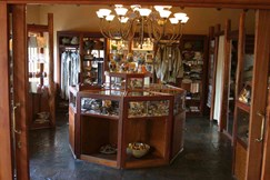 Curio Shop at Tau, a South African