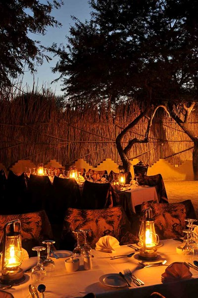 Wedding Venue at Tau Game Lodge
