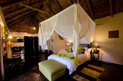 African luxury lodge which accommodates infants